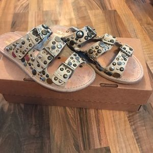 Free People Sandals, Perfect Like New Condition